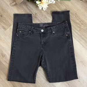 Kut from the Kloth Gray Skinny Jeans Size 10